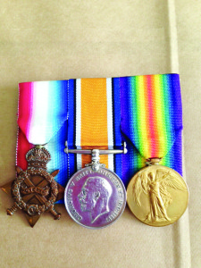 Photo  courtesy of the Martin County Sheriff's Office  The Martin County Sheriff's Office found these apparently World War I medals among items a team of pillowcase burglars had in their car. The department believes they're likely family heirlooms and wants to find the owner.