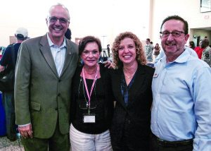 Photo courtesy of Susan Walker VetAssist area manager Barry Appel, right, meets with Rep. Ted Deutch, Nurse Next Door's Sangita Pluemer and Rep. Debbie Wasserman Schultz at a veterans job fair sponsored by the representatives, along with representatives Alcee Hastings and Frederica Wilson.