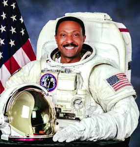 Photo courtesy of Winston Scott Scott, who is the senior vice president of external relations and economic development at Melbourne's Florida Institute of Technology, grew up in Miami and attended segregated schools until his sophomore year in high school. The experience of segregation seems to be a sharp contrast to what he saw when he went into orbit on STS-72, Endeavour, and STS-87, Columbia.
