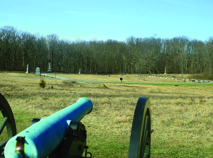 Source: Wikimedia Commons A silent cannon stands watch at Gettysburg National Battlefield in Pennsylvania.