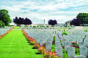 Photo by Gary Dee The Serre Cemetery in Somme, France, is the last resting place of tens of thousands of soldiers who lost their lives in the bloodiest battle of World War I.